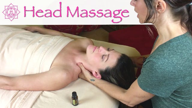 Head Massage for Sinus Relief