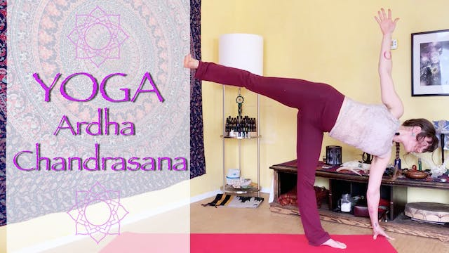 Intermediate Yoga Flow - Ardha Chandr...