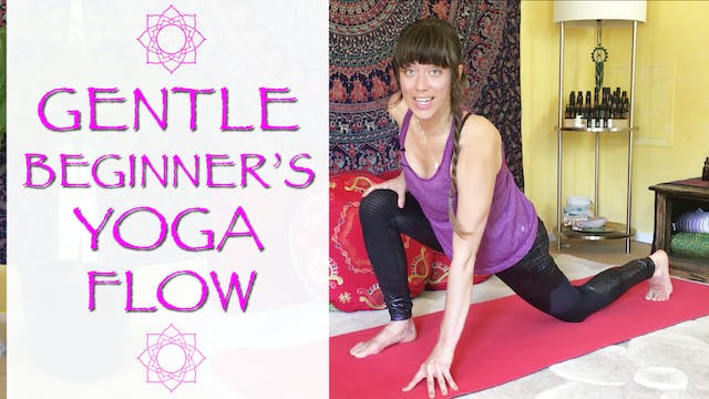 Slow & Gentle Beginner's Yoga Flow