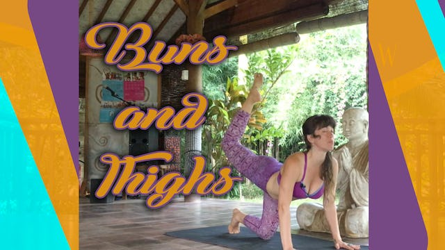 Buns and Thighs Yoga Workout