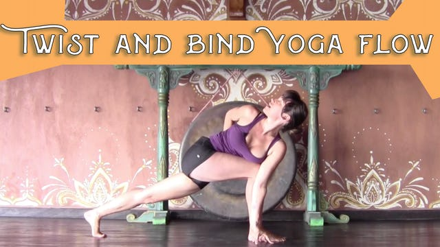 Twist and Bind Yoga Flow