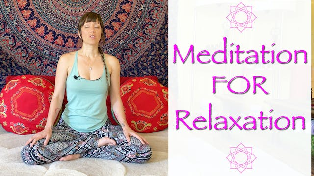 Meditation for Relaxation and Stress ...