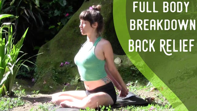 Full Body Breakdown - Back Relief