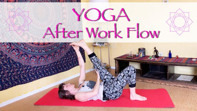 Gentle Yoga Flow for After Work