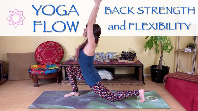 Back Pain Yoga Flow