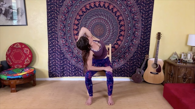 Seated Yoga Stretches for Upper Body Flexibility - part 2