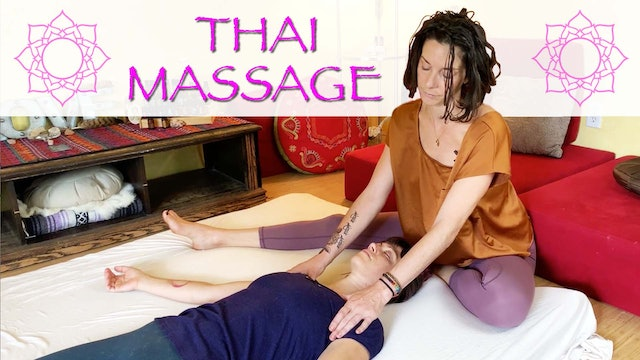 Thai Massage for Arms, Head and Chest from Cole Chance