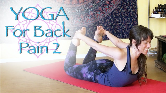 Yoga for Back Pain - part 2