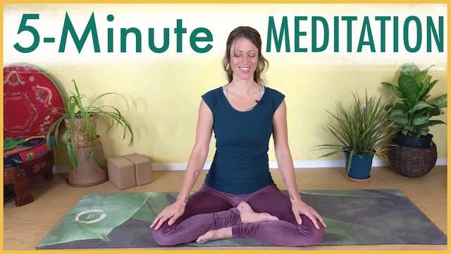 5-minute Morning Meditation