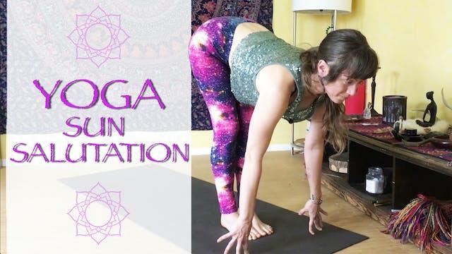 Yoga Sun Salutation Breakdown