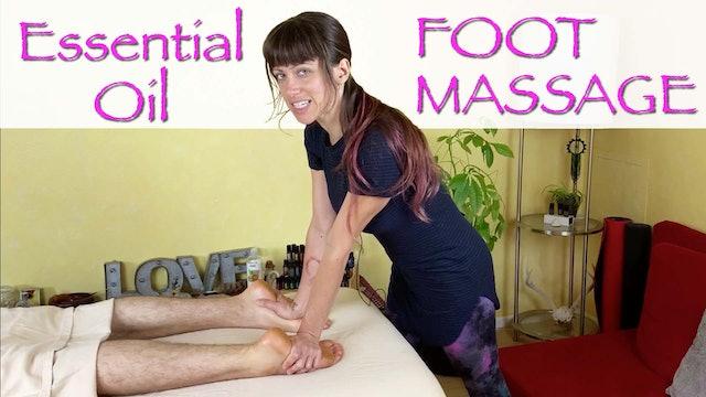 Essential Oil Foot Massage