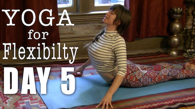 Yoga for Upper Back and Shoulders Day 5 of 7