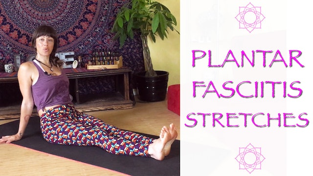 Stretches and massages for Plantar Fasciitis