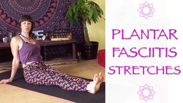 Stretches and massages for Plantar Fa...