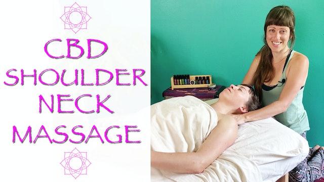 CBD Oil Head and Neck massage