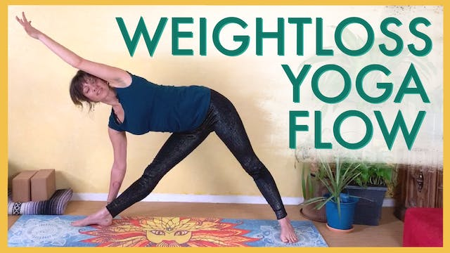 Yoga Flow for Weightloss