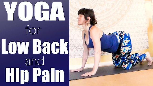 Yoga for low back and hip pain