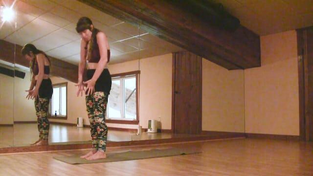 Yoga Flow Sun Salutation