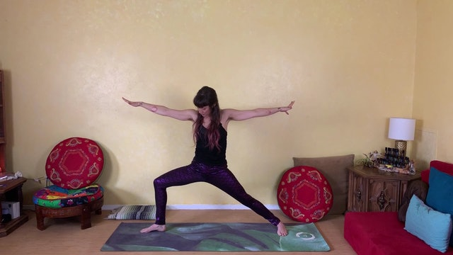 Advancing Poses - Ardha Chandrasana Candy Cane