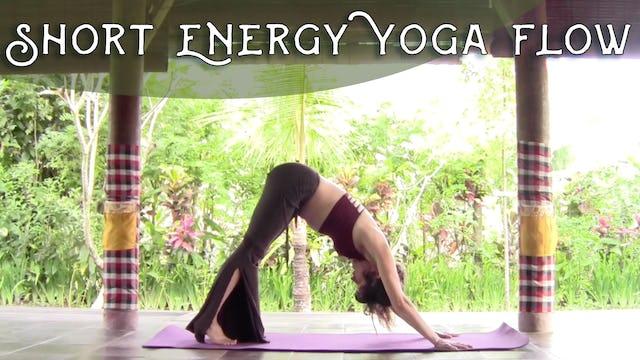 Short Energy Yoga Flow