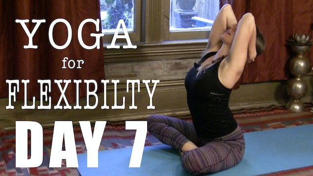Yoga for Flexibility  Shoulders and Neck Day 7of 7: