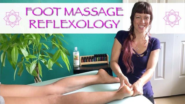Foot Massage Reflexology Techniques