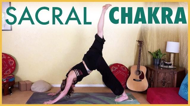 1-Hour SACRAL CHAKRA Yoga Flow