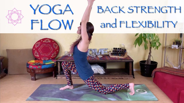 Rejuvenating Yoga Flow for Back Pain