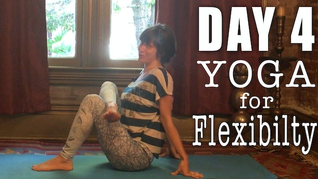 Yoga for Flexibility Hip, Low Back Pain Day 4 of 7
