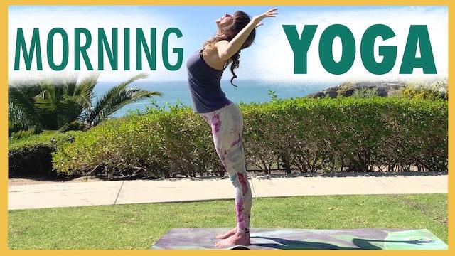 Wake Up Yoga | 15-minute Invigorating Flow