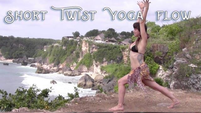 Short Twist Yoga Flow