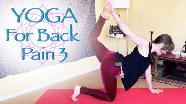 Yoga for Back Pain - part 3