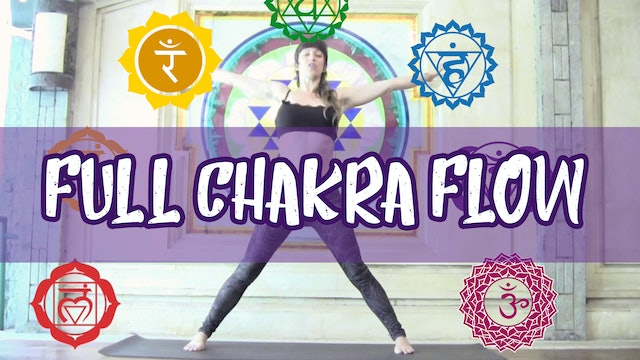 Full Chakra Yoga Flow and Meditation