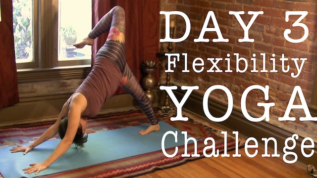 Yoga for Tight Legs Feet - Flexibility Day 3 of 7