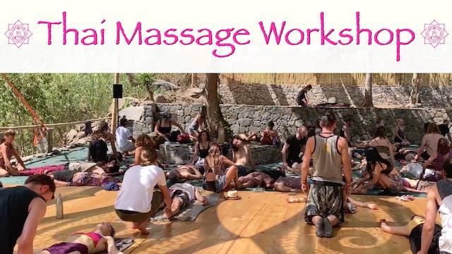 Beginners Thai Massage Workshop in Gu...