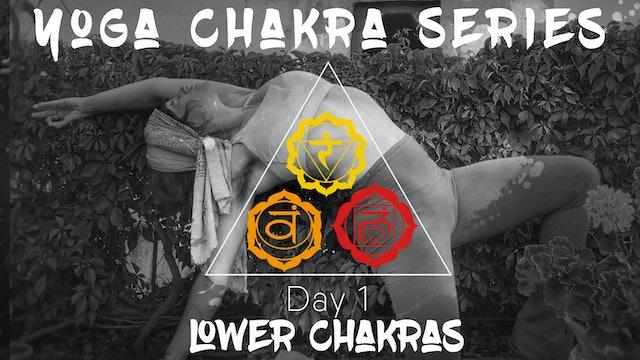 Chakra Series Day 1 - Lower Chakras