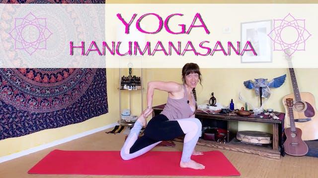 Hanumanasana Pose