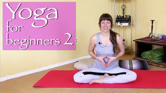 Yoga For Beginners - Back Pain (2 of 3)