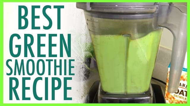 Minty Green Smoothie Recipe