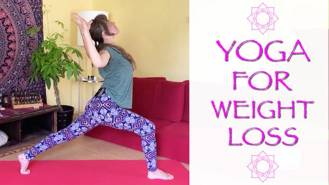 Intense Yoga Flow for Weightloss