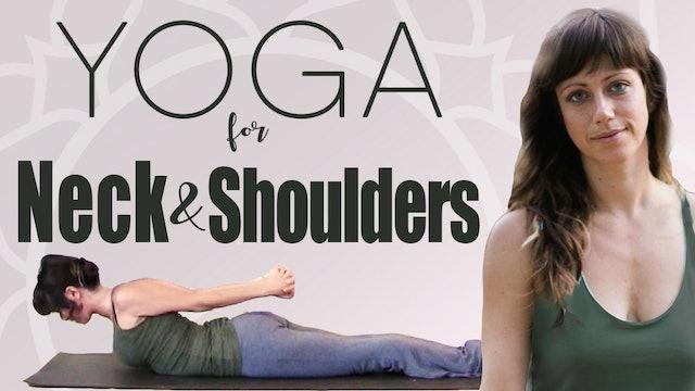 Yoga For Neck & Shoulders