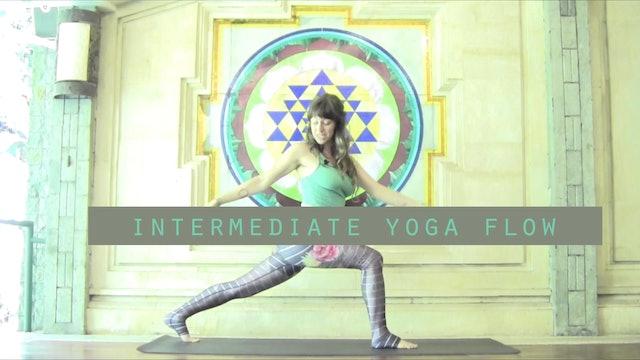 Intermediate Yoga Flow