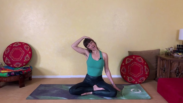 Stretches for Head and Shoulder Tension