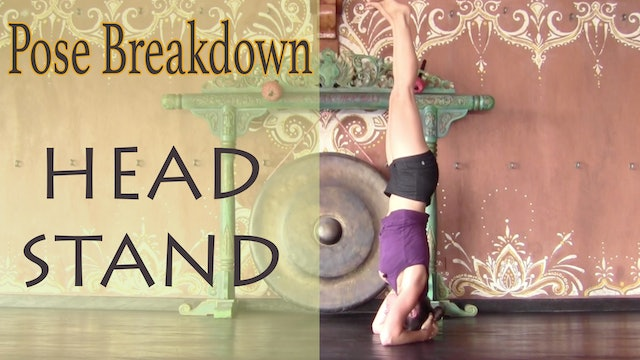 Pose Breakdown - Headstand