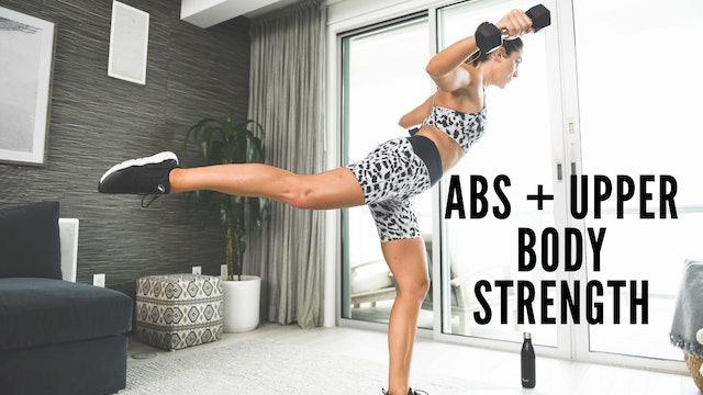 Abs + Upper Body Strength