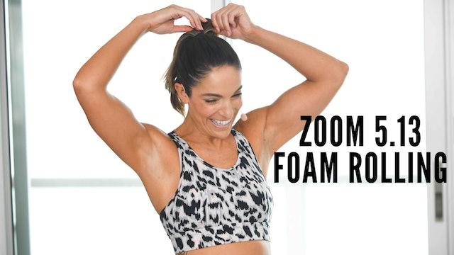 Zoom 5.13 Foam Rolling
