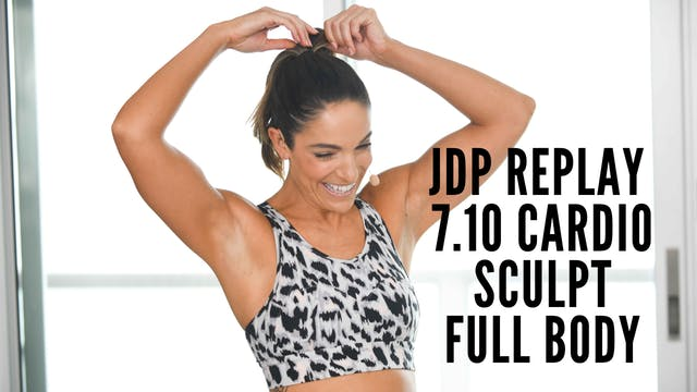 JDP Replay 7.10 Cardio Sculpt Full Body