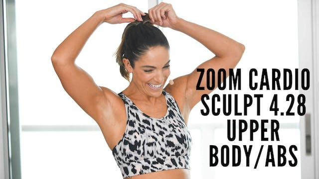 Zoom 4.28 Cardio Sculpt Upper Body/Abs