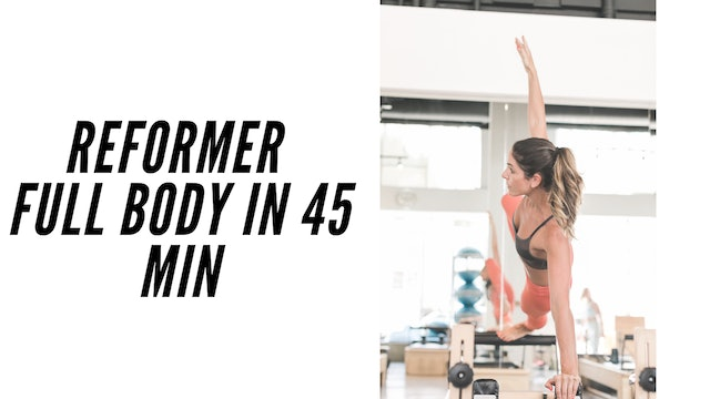 Full Body Reformer Workout