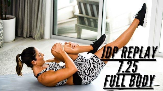 JDP REPLAY 7.25 Full Body
